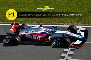 Copertina Piola Racconta le F1 2020: Williams FW43