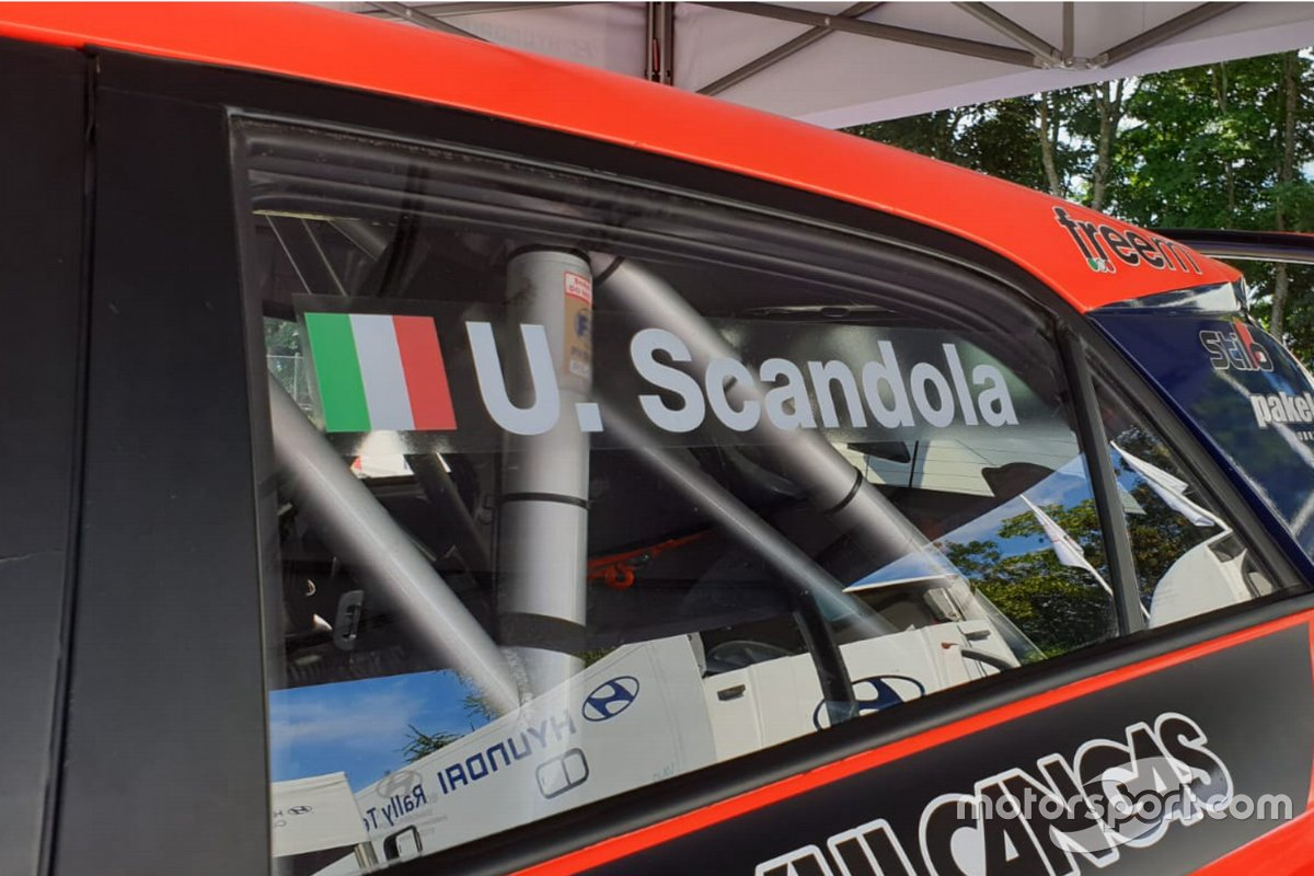 Umberto Scandola, Hyundai i20 R5