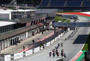 Moto3-Action auf dem Red-Bull-Ring in Spielberg