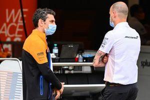 Гоночный директор McLaren Андреас Зайдль