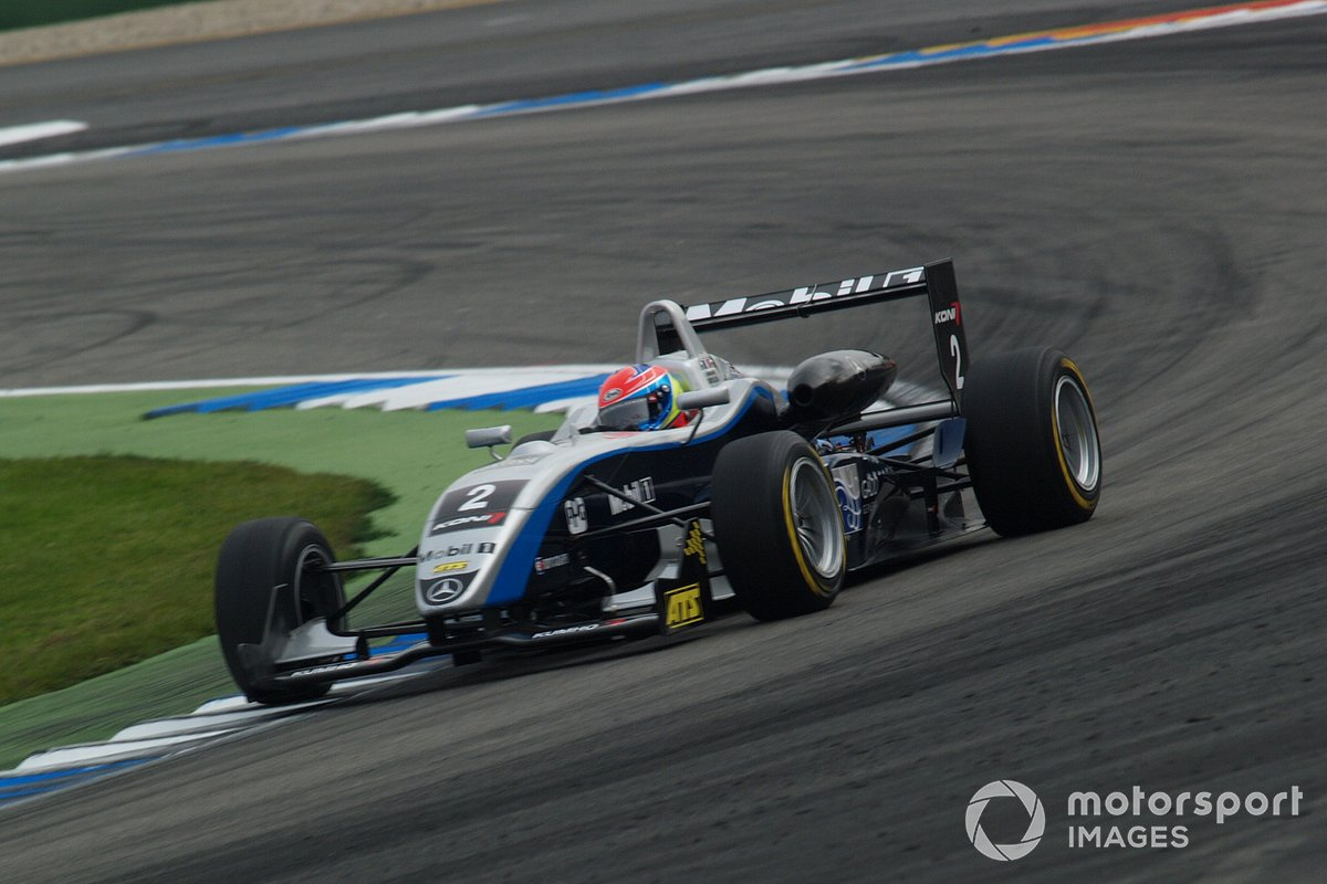 Romain Grosjean, ASM Formula 3, Dallara F305 Mercedes