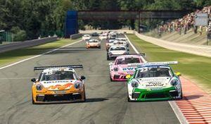 Ларри тен Ворде, Team GP Elite, в виртуальном Суперкубке Porsche в Спа
