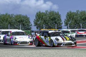 DeSalvo, Santoro, Porsche Esports Carrera Cup Italia Prologo 2020