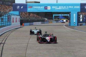 Oliver Rowland, Nissan e.Dams, en Stoffel Vandoorne, Mercedes Benz EQ