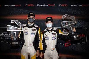 GTLM Winners #912 Porsche GT Team Porsche 911 RSR: Earl Bamber, Laurens Vanthoor