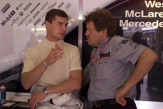 David Coulthard, McLaren and Norbert Haug, Mercedes