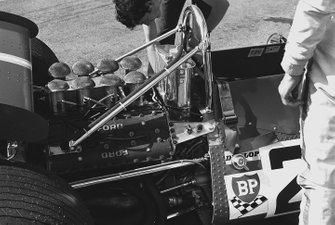 De Tomaso 505/38-Ford detail
