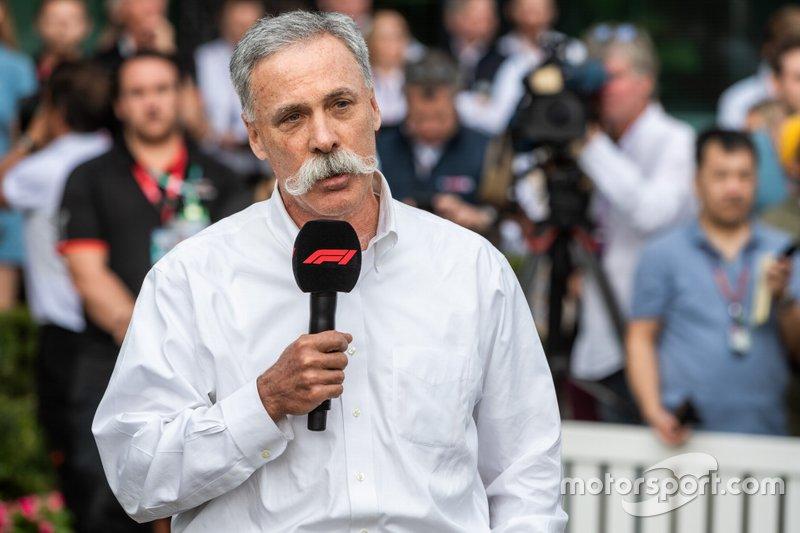 Chase Carey, CEO di F1