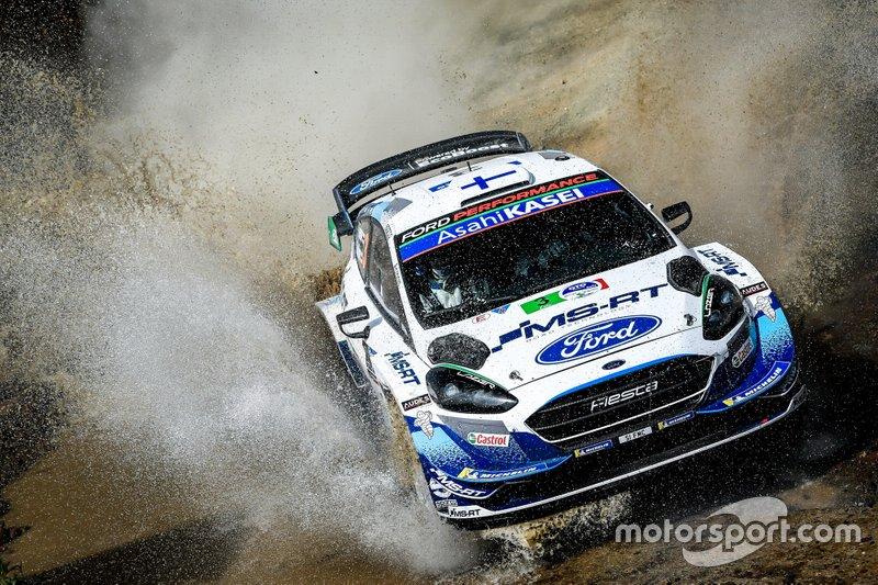 Теему Сунинен и Ярмо Лехтинен, M-Sport Ford WRT Ford Fiesta WRC