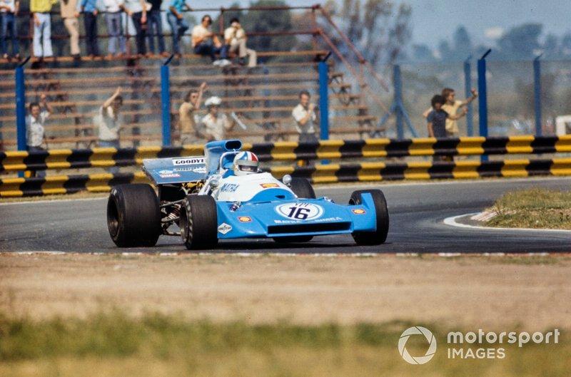 Chris Amon, Matra MS120C, GP d'Argentina del 1972