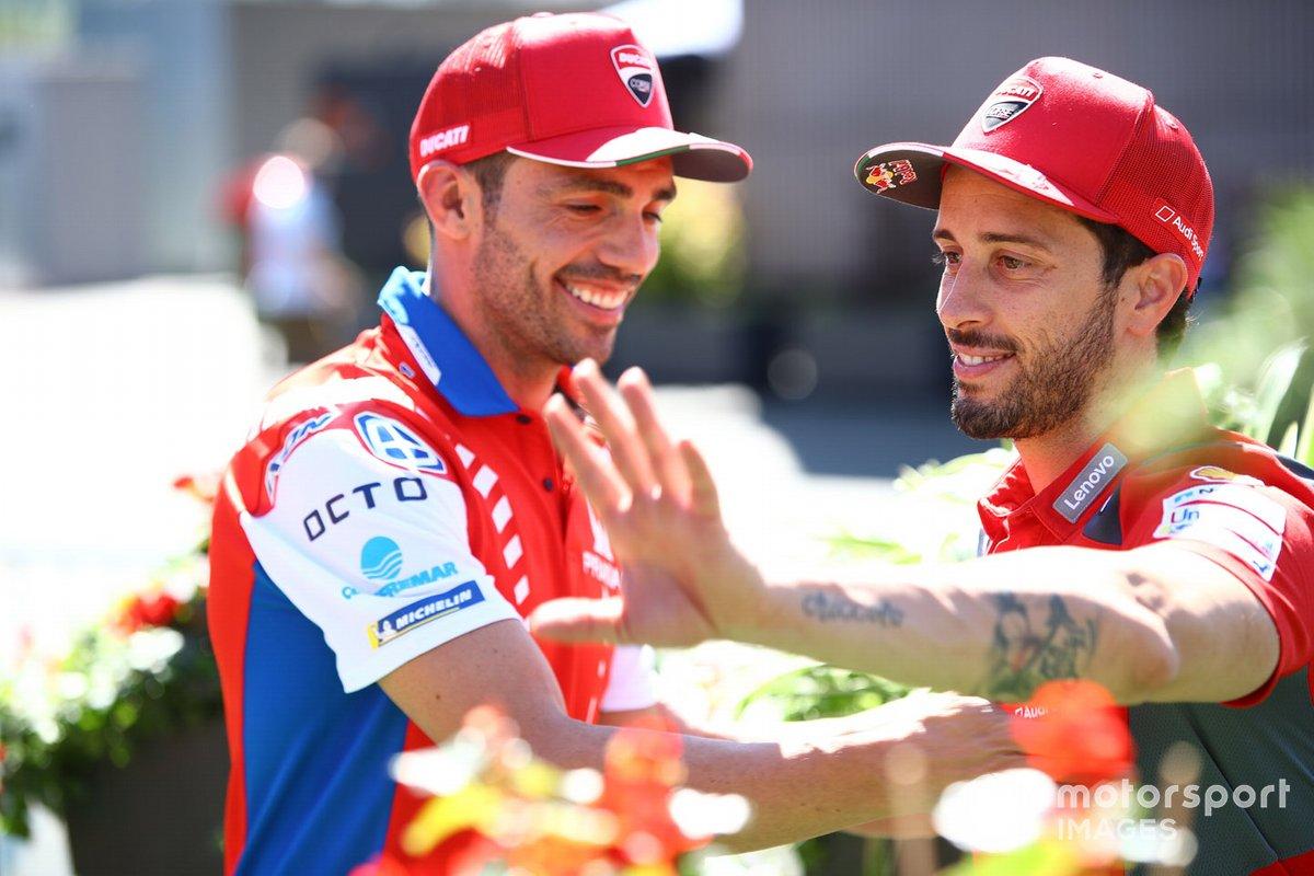 Michel Pirro, Andrea Dovizioso, Ducati Team