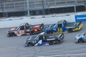 Raphael Lessard, Kyle Busch Motorsports, Toyota Tundra SiriusXM Chandler Smith, Kyle Busch Motorsports, Toyota Tundra JBL