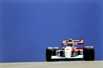 Ayrton Senna, McLaren MP4-8 Ford