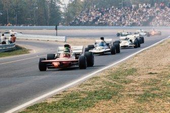 Henri Pescarolo, March 711 Ford, Mike Hailwood, Surtees TS9A Ford, John Cannon, British Racing Motors P153