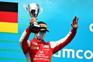 Third place Mick Schumacher, Prema Racing