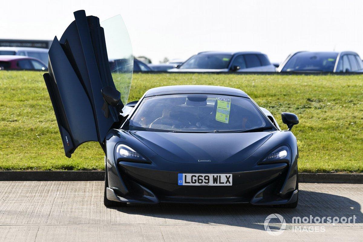 A McLaren de Carlos Sainz
