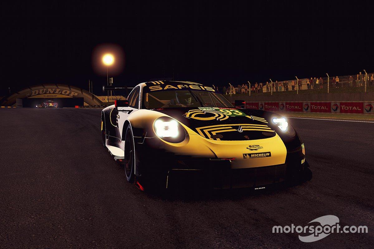 #93 Porsche Esports Team Porsche 911 RSR: Nick Tandy, Ayhancan Guven, Joshua Rogers, Tommy Ostgaard