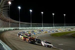 Denny Hamlin, Joe Gibbs Racing, Toyota Camry, Chase Elliott, Hendrick Motorsports, Chevrolet