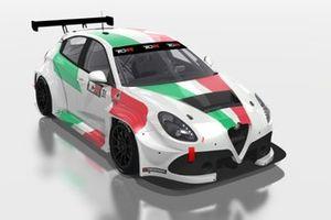 Kevin Ceccon, Romeo Ferraris, Alfa Romeo Giulietta TCR