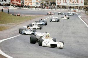 Wilson Fittipaldi, Brabham BT33, Mike Hailwood, Surtees TS9B, Peter Revson, McLaren M19A