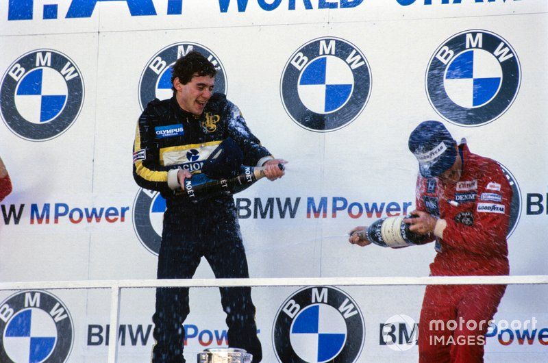 Ayrton Senna, Lotus, Nigel Mansell, Williams