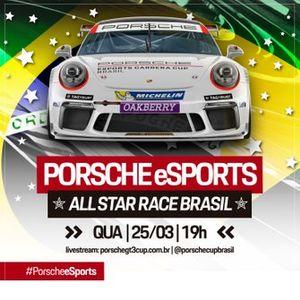 Poster da Corrida das Estrelas da Porsche