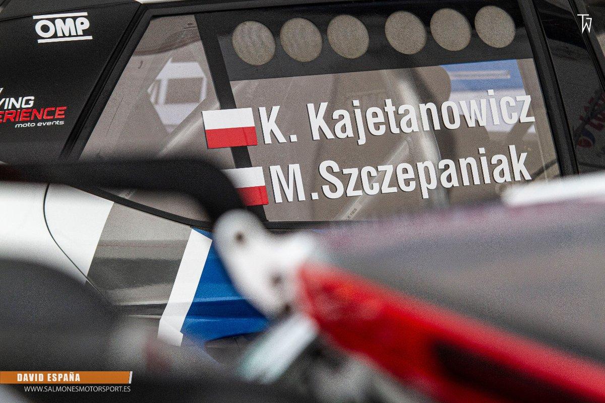 Kajetan Kajetanowicz, Maciej Szczepaniak, Skoda Fabia R5 evo