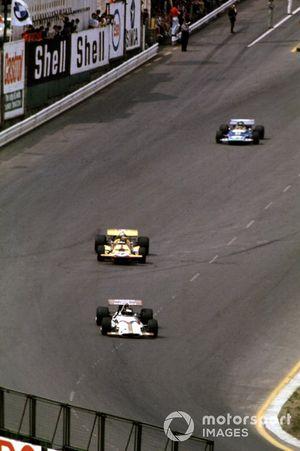 Jackie Oliver, Ronnie Peterson y Henri Pescarolo, Matra