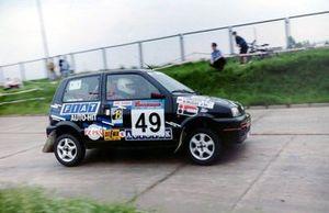 Wojciech Musiał, Igor Tomasiak, Fiat Cinquecento Sporting
