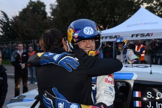 Sébastien Ogier et Julien Ingrassia, Volkswagen, fêtent leur titre