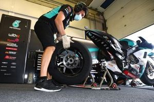 Franco Morbidelli, Petronas Yamaha SRT's garage