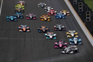 Will Power, Team Penske Chevrolet precede le altre auto alla partenza