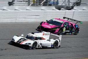#77: Mazda Team Mazda DPi, DPi: Oliver Jarvis, Tristan Nunez, #86: Meyer Shank Racing w/Curb-Agajanian Acura NSX GT3, GTD: Mario Farnbacher, Matt McMurry