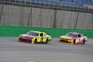 Brandon Jones, Joe Gibbs Racing, Toyota Supra, Michael Annett, JR Motorsports, Chevrolet Camaro
