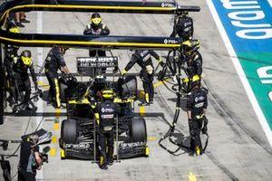 Сход Эстебана Окона, Renault F1 Team R.S.20