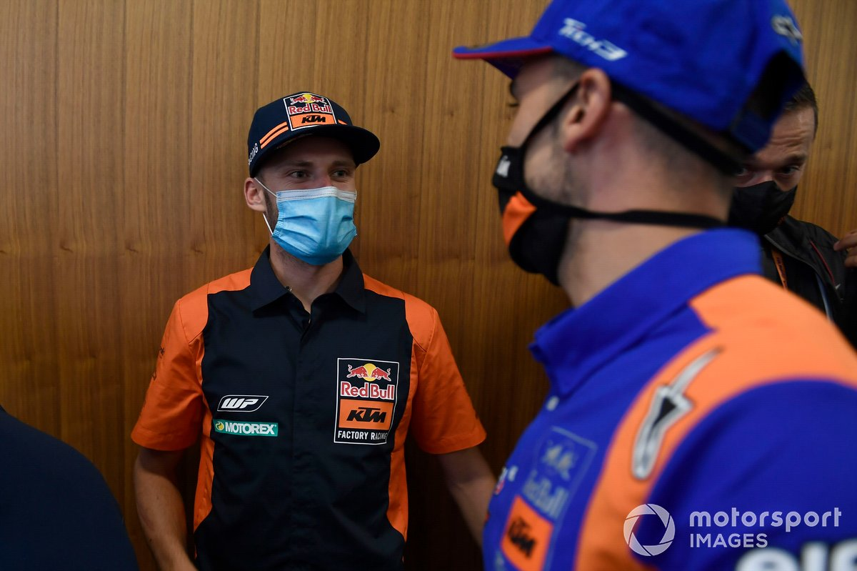 Brad Binder, Red Bull KTM Factory Racing, Miguel Oliveira, Red Bull KTM Tech 3