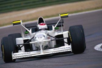 Jos Verstappen, Tyrrell 025 Ford
