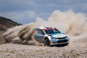 Barry McKenna, James Fulton, Skoda Fabia R5, Rally Mexico, WRC 3