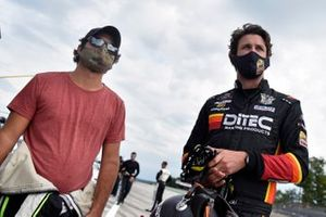 Josh Bilicki, B.J. McLeod Motorsports, Toyota Supra Ariens and Jesse Little, JD Motorsports, Chevrolet Camaro JD Motorsports