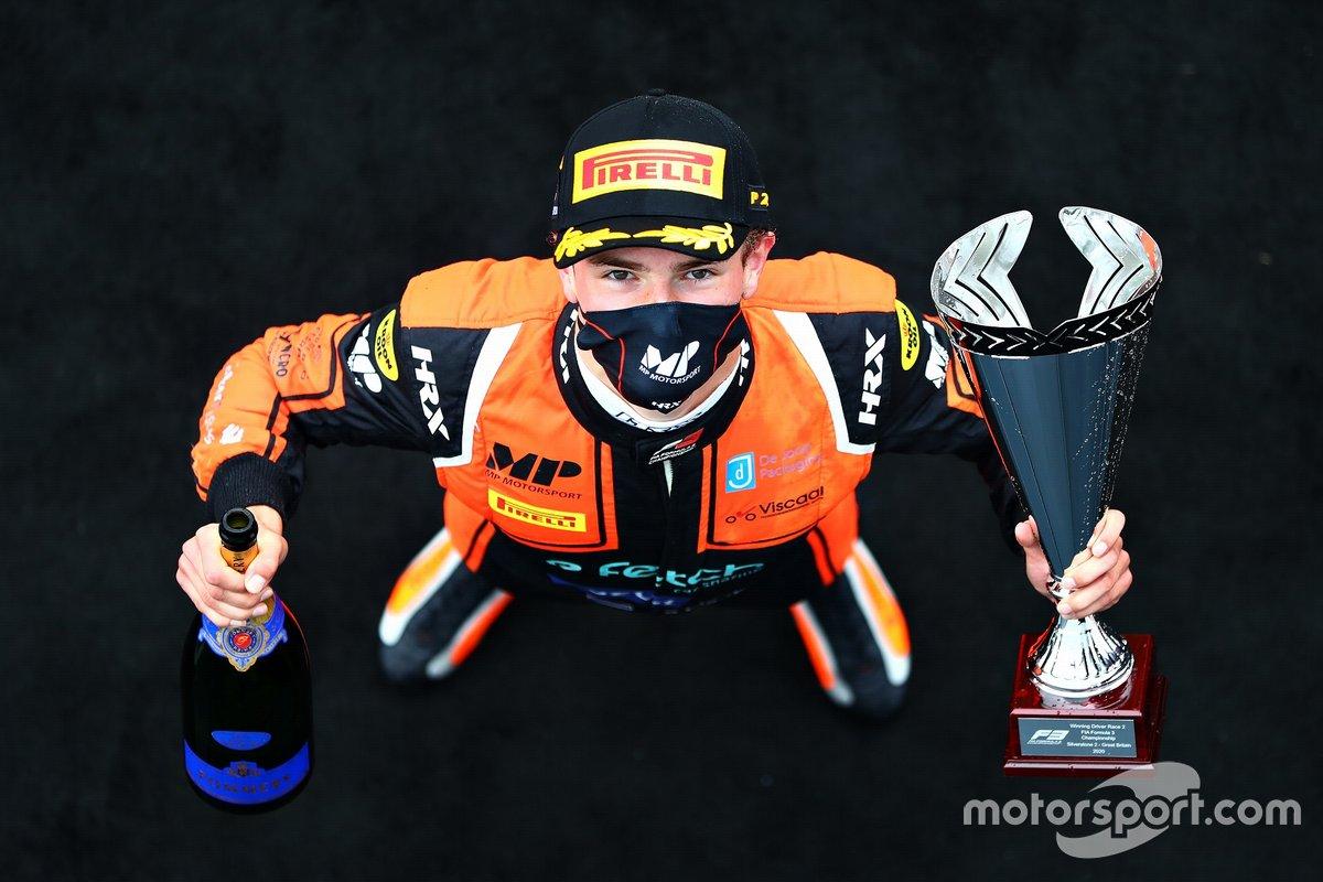 El ganador: Bent Viscaal, MP Motorsport