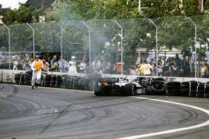 Crash: Riccardo Patrese, Brabham BT49D