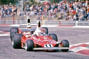 Clay Regazzoni, Ferrari 312T, Jochen Mass, McLaren M23 Ford