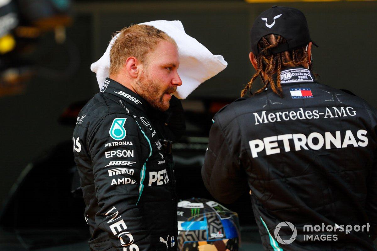 Valtteri Bottas, Mercedes-AMG Petronas F1, and Lewis Hamilton, Mercedes-AMG Petronas F1