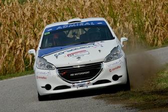 Andrea Mabellini, Virginia Lenzi Peugeot 208 R2