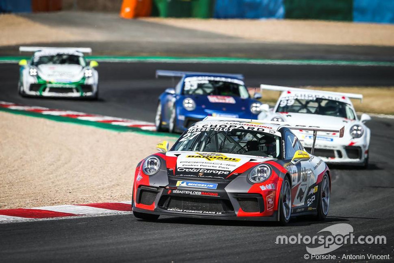 Valentin HASSE-CLOT #27, Sébastien Loeb Racing - Porsche Carrera Cup France à Magny-Cours, du 6 au 9 septembre 2018. Photo : Antonin Vincent.