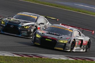 #21 Hitotsuyama Audi R8 LMSと#96 K-tunes RC F GT3