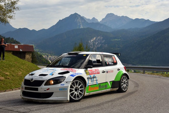 Matteo Dapra, Fabio Andrian, Skoda Fabia S2000, Car Racing