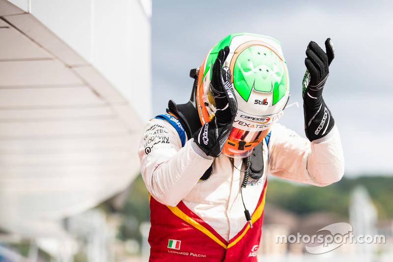 Leonardo Pulcini a remporté sa première victoire en GP3