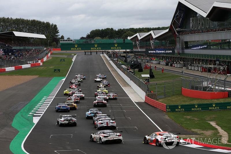 Start Silverstone 6 Jam