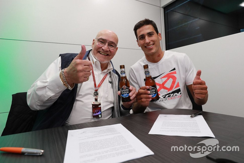 Xavi Vierge, Marc VDS Racing, mit Marc van der Straten